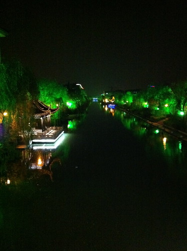 Yangzhou at night