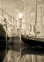 Venetian Dawn (Johnathan Christensen) Tags: morning venice italy brown art sunrise photography europe italia fine johnathan gondola venezia christensen