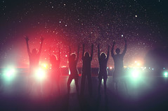 All Along the Western Front (Stephen Beadles) Tags: friends party night stars photography lights hands stephen 365 runway beadles stephenbeadles