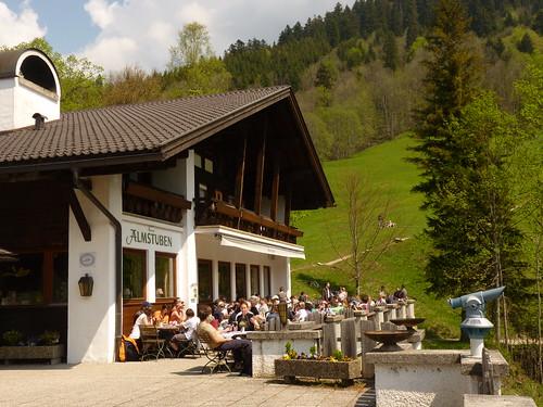 Das Forsthaus Graseck - Terrasse