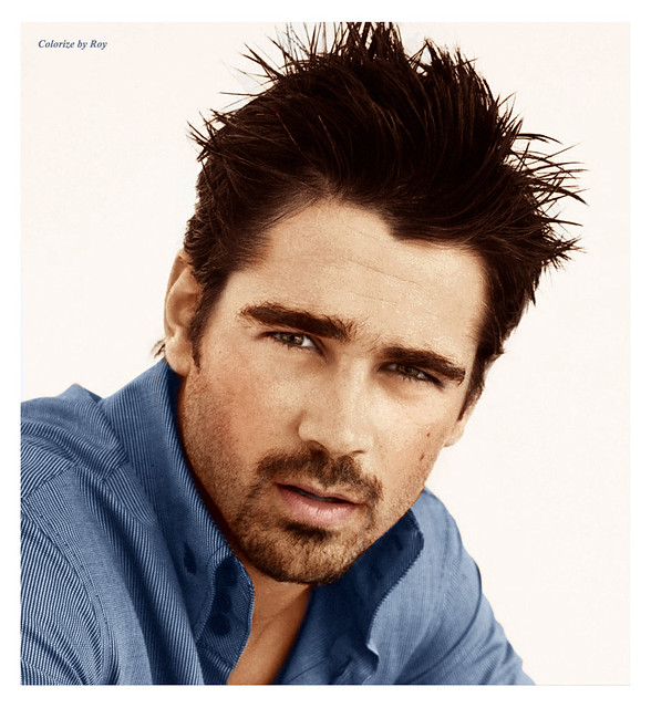 Colin Farrell by CATTYROY