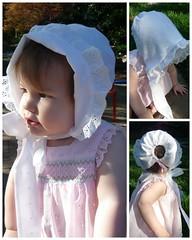 Bonnet for a Flower Girl
