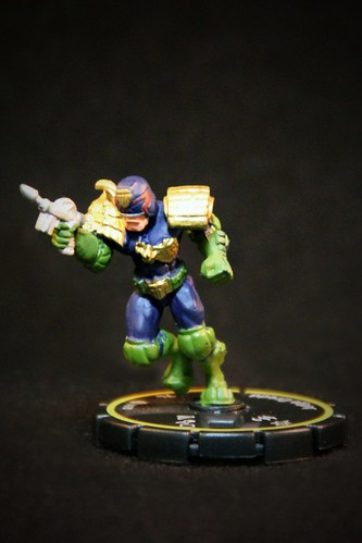 Indy HeroClix #70 JUDGE DREDD - Rookie
