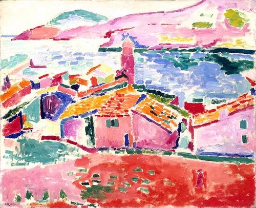 Les toits de Collioure - 1905
