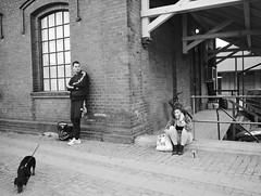 P4277145.tif (Sigfrid Lundberg) Tags: street people woman dog man lund skne sweden streetphotography sverige vm dogowner heliar15mmf45 kvinna clemenstorget voigtlanderheliar15mmf45