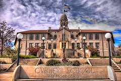 Curley School, National Register of Historic Places (Jim Purcell) Tags: usa photoshop kitlens az topaz lightroom ajo nationalregisterofhistoricplaces photomatix pentaxistdl pimacounty spanishcolonialrevivalstyle tucsonphotographer smcpentaxda1855mm3556al