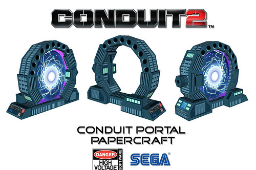 Conduit 2 Papercraft