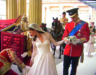The ROYALS  - Wedding , William and Kate,  Really a nice pair,  (image taken from TV), 494