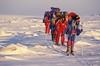 Skiers (Weber Arctic Expeditions) Tags: ice richard misha weber northpole frostbite arcticocean polarexpedition malakhov wardhuntisland fischerskis polarbridge polartraining capearkticheskiy dimitrishparo shparo