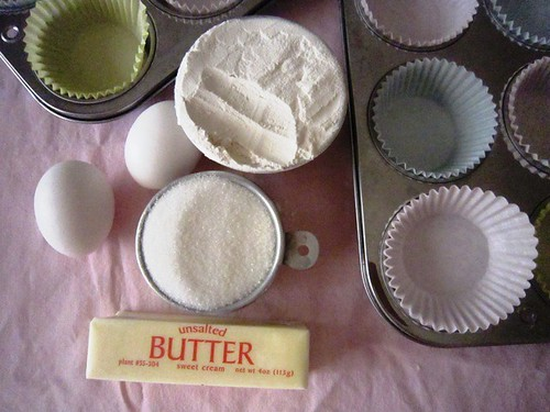 Butter, eggs, flour and sugar, take two