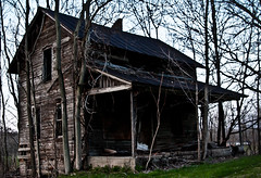 Adversity Prevails (~Molz~) Tags: house abandoned ruins structure weathered strength sturdy