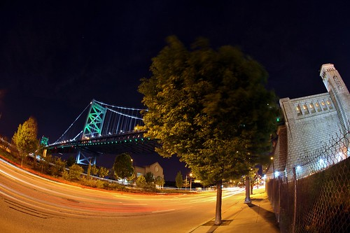 Ben Franklin Bridge South by Darryl W. Moran Photography