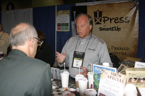 2011 SCAA - Checking Out XPress Lid at SmartCup Booth