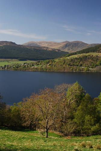 Looking across Loch Tay