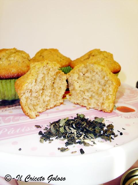 Muffins al tè alla menta 3