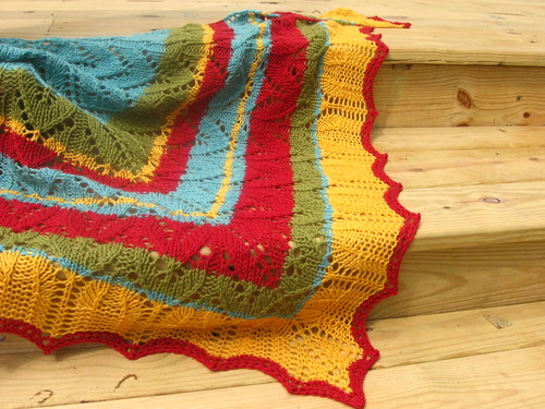 Cinco de Mayo Shawl