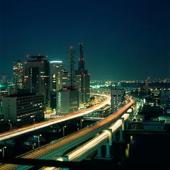 Kobe (akira ASKR) Tags: night evening fuji clear kobe bronica motomachi provia provia100f   bronicas2 rdpiii  zenzabronica