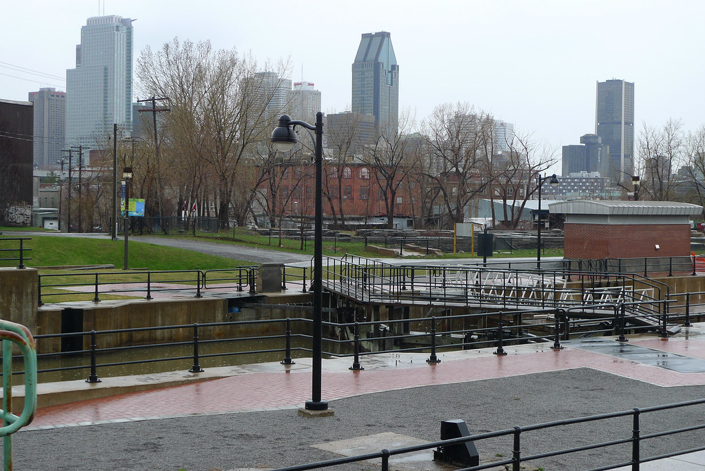 Copyright Photo: Montreal Skyline - Lachine Canal by Montreal Photo Daily, on Flickr