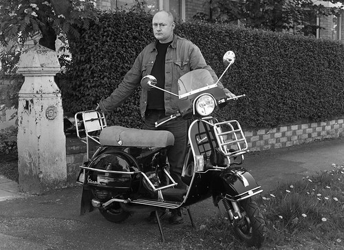Vincent and his PX125