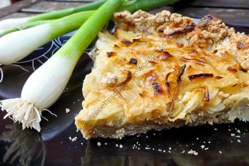 Tarte à l'oignon maison / Home-made Onion Pie