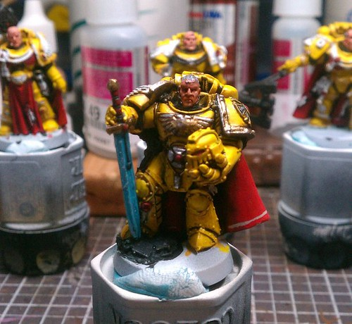 Space Marine Master of the Forge (WIP)