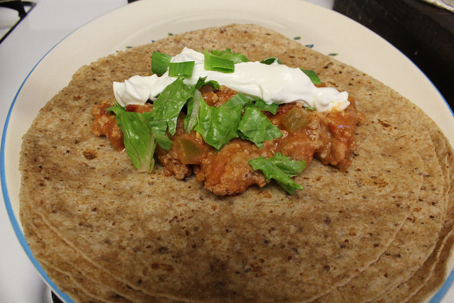 Turkey Chipotle Wraps