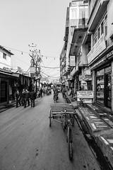 C350D-IMG_1754-P3R Canon EOS 350D Thamel Kathmandu Nepal (Nic (Luckypenguin)) Tags: world travel nepal vacation blackandwhite bw holiday blancoynegro tourism monochrome monocromo noiretblanc streetphotography canon350d kathmandu centralasia canoneos350d canonrebelxt  streetshot thamel uwa canondigitalcamera streetwork  travelphotography canoncamera travelphotos ultrawideangle monocromatico canonef  sigma1020mmf456exdchsm inbiancoenero travelphotographer luckypenguin fotografiastrada photographierue fotografacalle