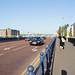 Japanese Tourists On Queens Bridge - Belfast