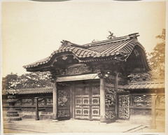 Burial ground of the Taikuns at Shiba, Japan (National Library NZ on The Commons) Tags: japan shiba zojoji  nationallibrarynz taikuns