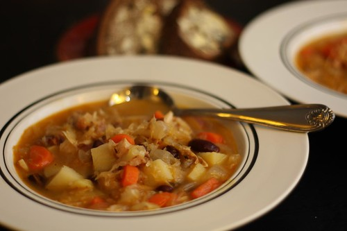 Kapusniak (Sauerkraut Soup)