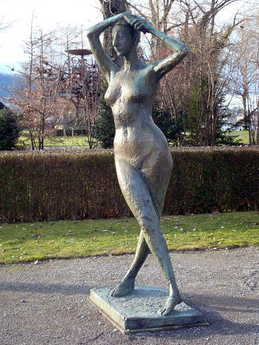 Zurich sculpture by doodle_juice