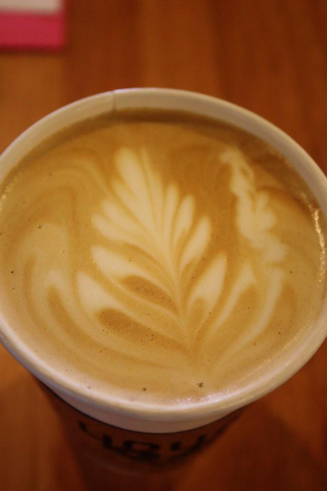 leaf latte