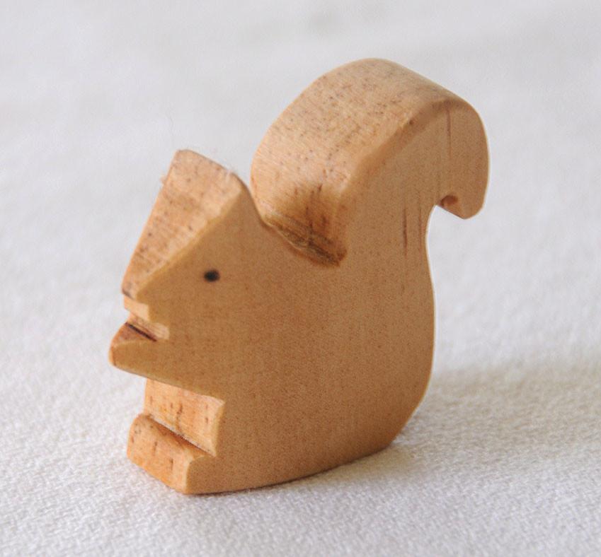 Handmade Wooden Squirrell