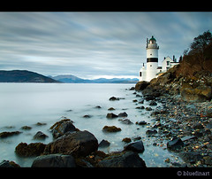 Cloch Lighthouse (blue fin art) Tags: longexposure sea seascape water greenock scottish lee inverclyde renfrewshire clochlighthouse bigstopperscotland