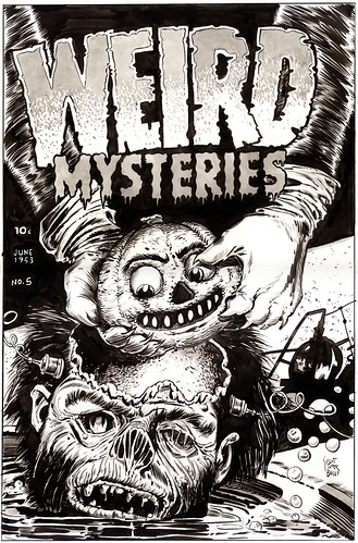 Weird Mysteries #5 Re-creation