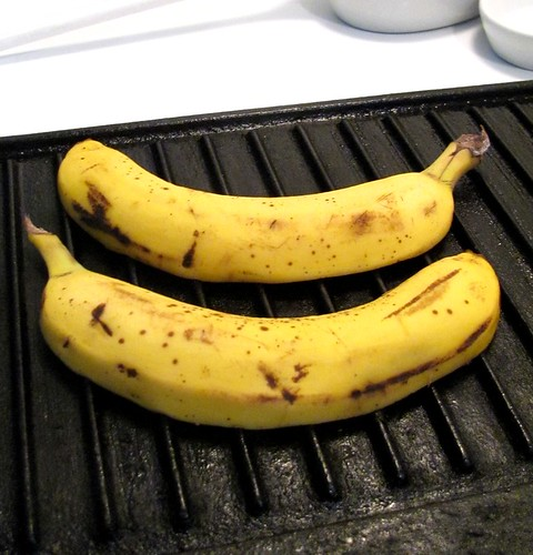 Occasion's Grilled Bananas with Rum, Pineapple Glaze