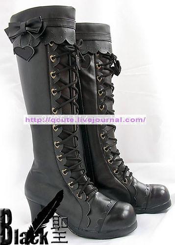 Black Saint Black Boots