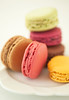 Macaroon anyone...? (Explored) (Lady Haddon) Tags: pink copyright food colour macro london yellow canon 100mm explore macaroon canon5d whiteplate allrightsreserved laduree macaroons 2011 canonef100mmf28macrousm kimhaddon kimhaddonphotography gettyimagesfood availableforlicensingongettyimages
