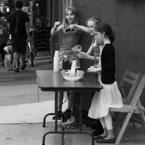 Lemonade Stand, Brooklyn