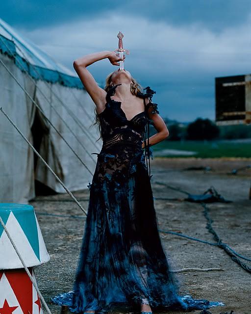 Cameron Diaz in pretty circus woman photoshoot by Annie Leibovitz (4)