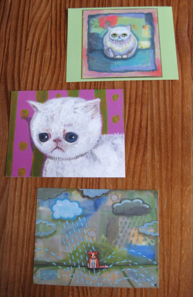 Schmoomunitions cat postcards