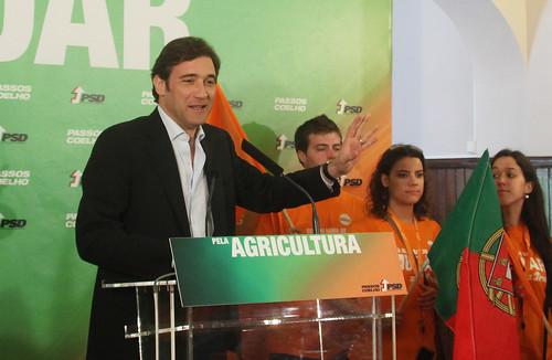 Pedro Passos Coelho almoço temático sobre Agricultura