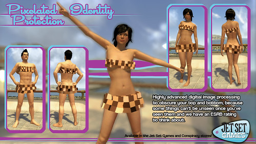 PlayStation Home: Pixelated