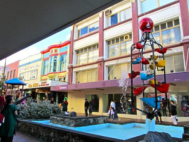 Cuba Street, Wellington, New Zealand