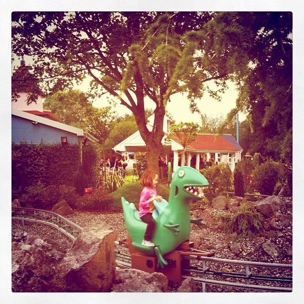 Dinosaur ride #PPworld