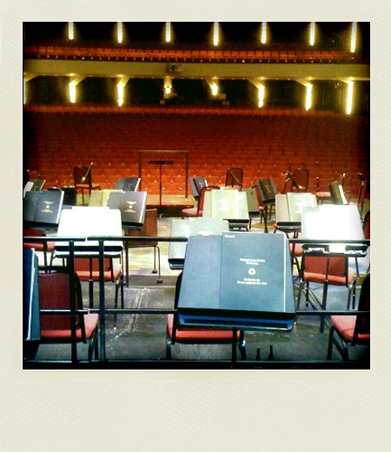 Stage view at the NAC