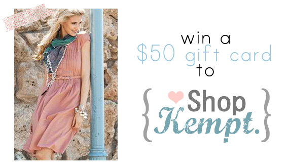 shopkempt giveaway