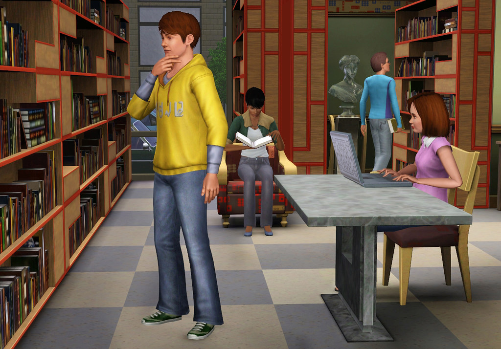 Sims 3 Town Life Stuff Library