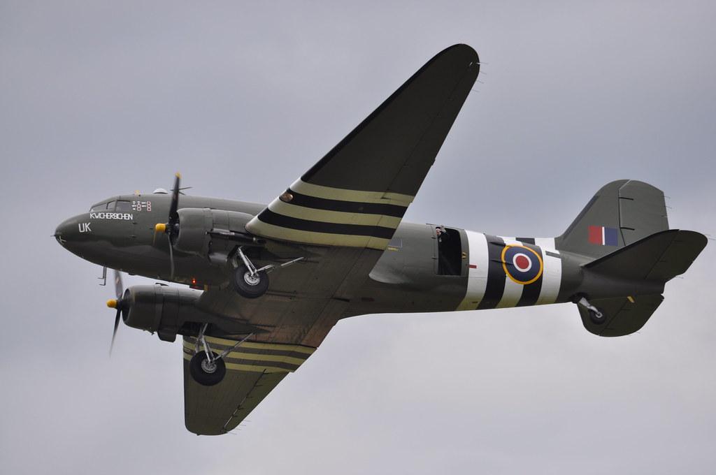 DC-3 Dakota - Royal Air Force Battle of Britain Memorial Flight