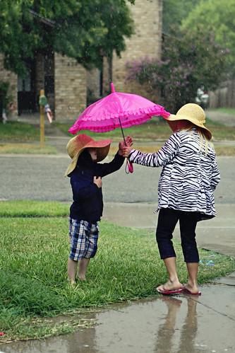 Texas rain gear